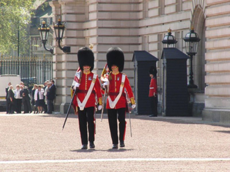 Englische Soldaten