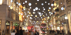 Christmasshopping London